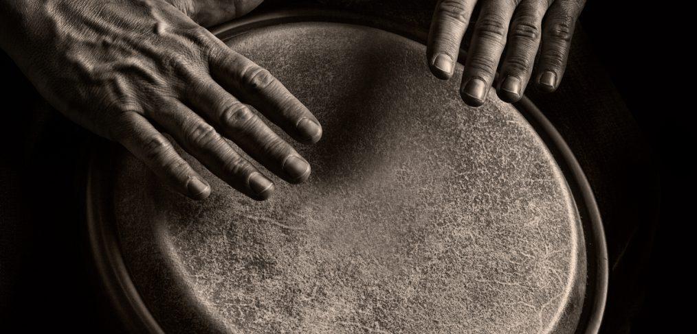 Rhythm. Bongo Player.