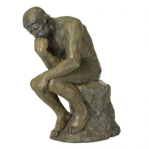 "Auguste Rodin's ""The Thinker"""